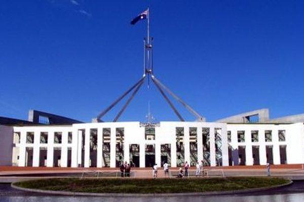 Le parlement australien à Canberra
