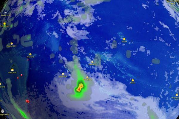 Vigilance météo en cours sur la Polynesie Française