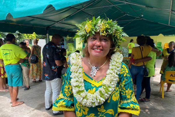 Teura Tarahu-Atuhiva candidate à Faa'a