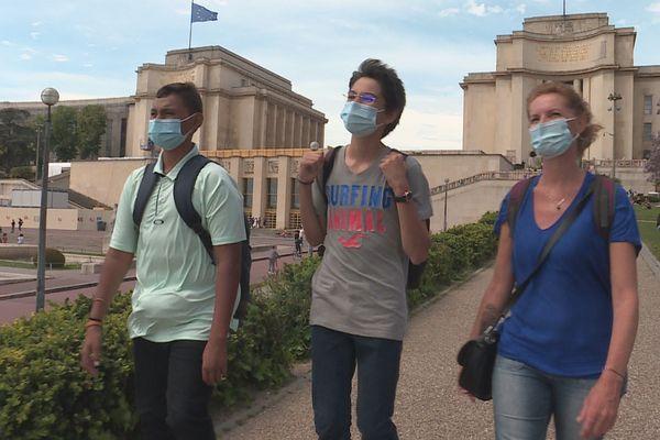 Flamme de l'égalité : des collégiens d'Arue à Paris pour recevoir leur prix