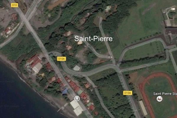 carte accident saint-pierre