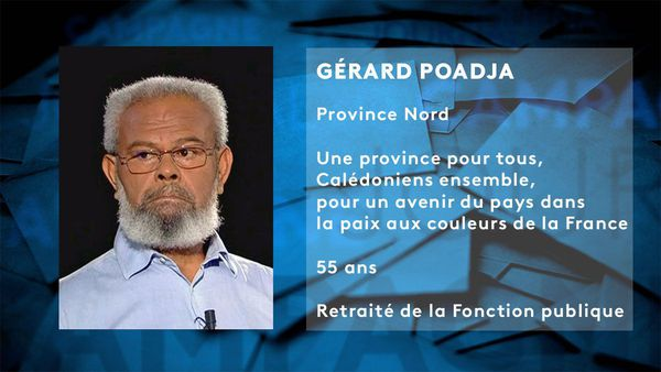 Provinciales 2019: fiche candidat Gérard Poadja