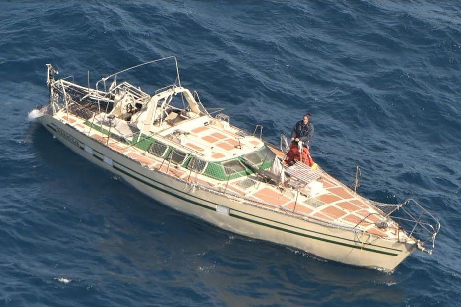 Un navigateur français secouru au large de la Nouvelle-Zélande - Nouvelle-Calédonie la 1ère
