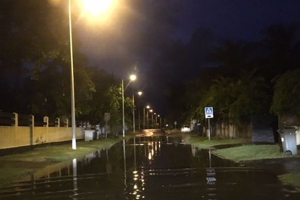Orages et inondations janvier 2018