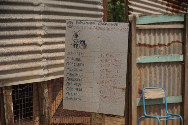 La Croix-Rouge mène ses actions avec des équipes mobiles