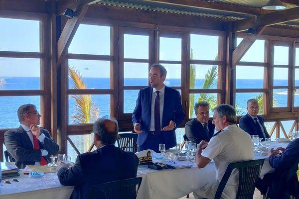 Sébastien Lecornu à la rencontre des professionnels du tourisme
