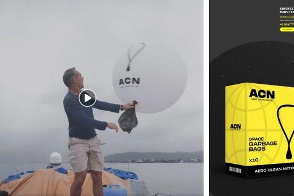 Bientôt un ballon pour envoyer ses déchets dans l'espace ?
