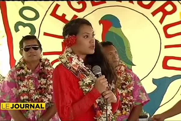 Retour aux sources pour Miss Tahiti 2014 après 18 ans d'absence