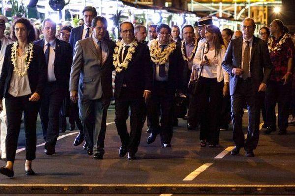 Arrivée Hollande Polynésie