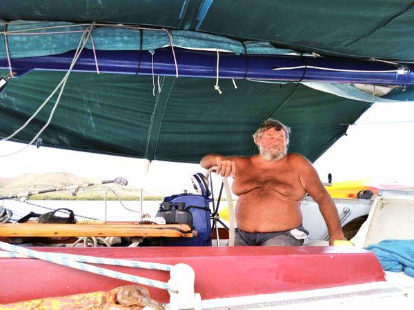 Sauvetage de voilier échoué, Ouano, mars 2021