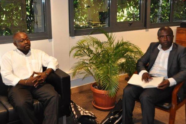 La délégation mahoraise reçue au Haut-Commissariat de la Polynésie française