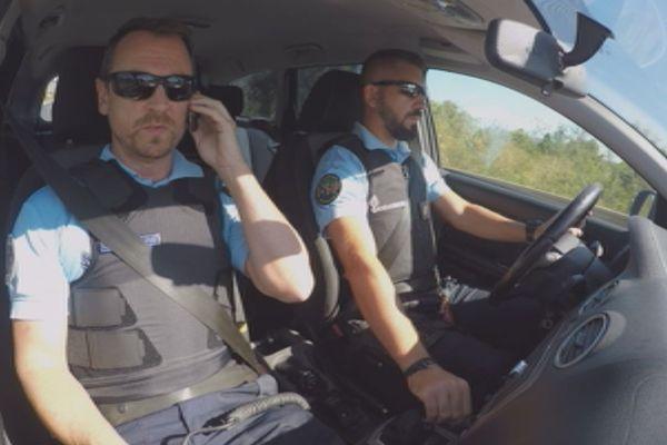 Gendarmes en voiture banalisée (6 octobre 2017)
