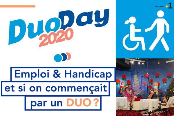 Duoday 2020 : l'inclusion commence avec un duo !