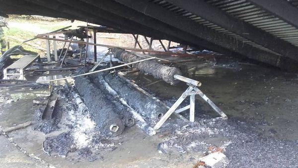 Photo DR 2 famille Grandin de la Sellerie Grandin 7e km incendiée mai 2017 (422455)