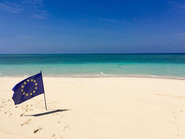 Le drapeau de l'Europe