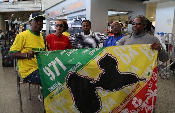 supporters Guadeloupe Brasilia