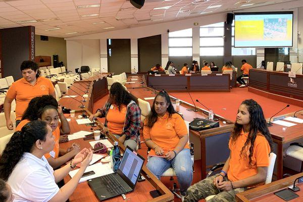 Deuxième séance du Congrès des jeunes 2020, 12 septembre
