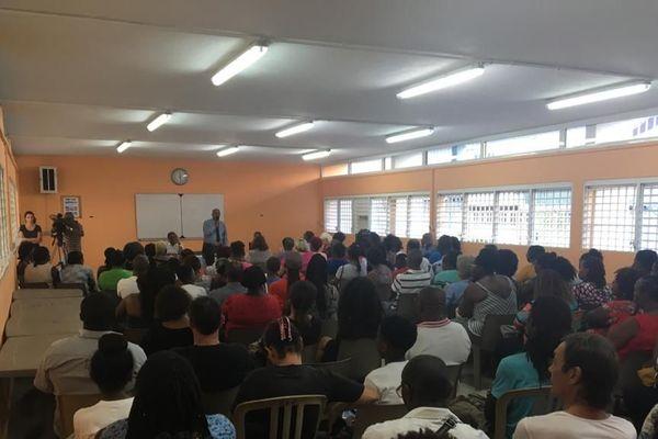 Rencontre parents/administration du Collège Sadi Carnot. 2