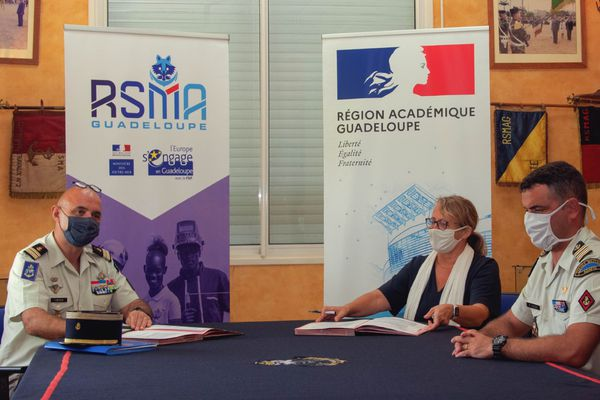 Signature partenariat Rectorat-RSMA