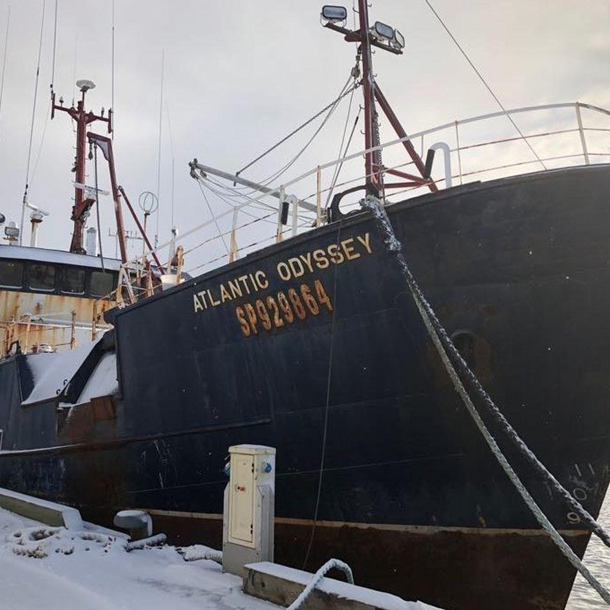 Le tribunal de grande instance ordonne la vente aux enchères du navire Atlantic Odyssey