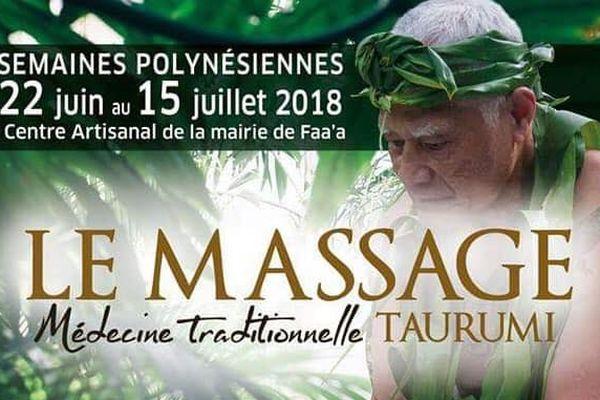 Massages thaïlandais et traditionnels jusqu'au 15 juillet à Faa'a