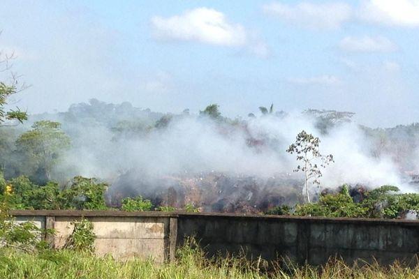 Fumées toxiques à Maripasoula