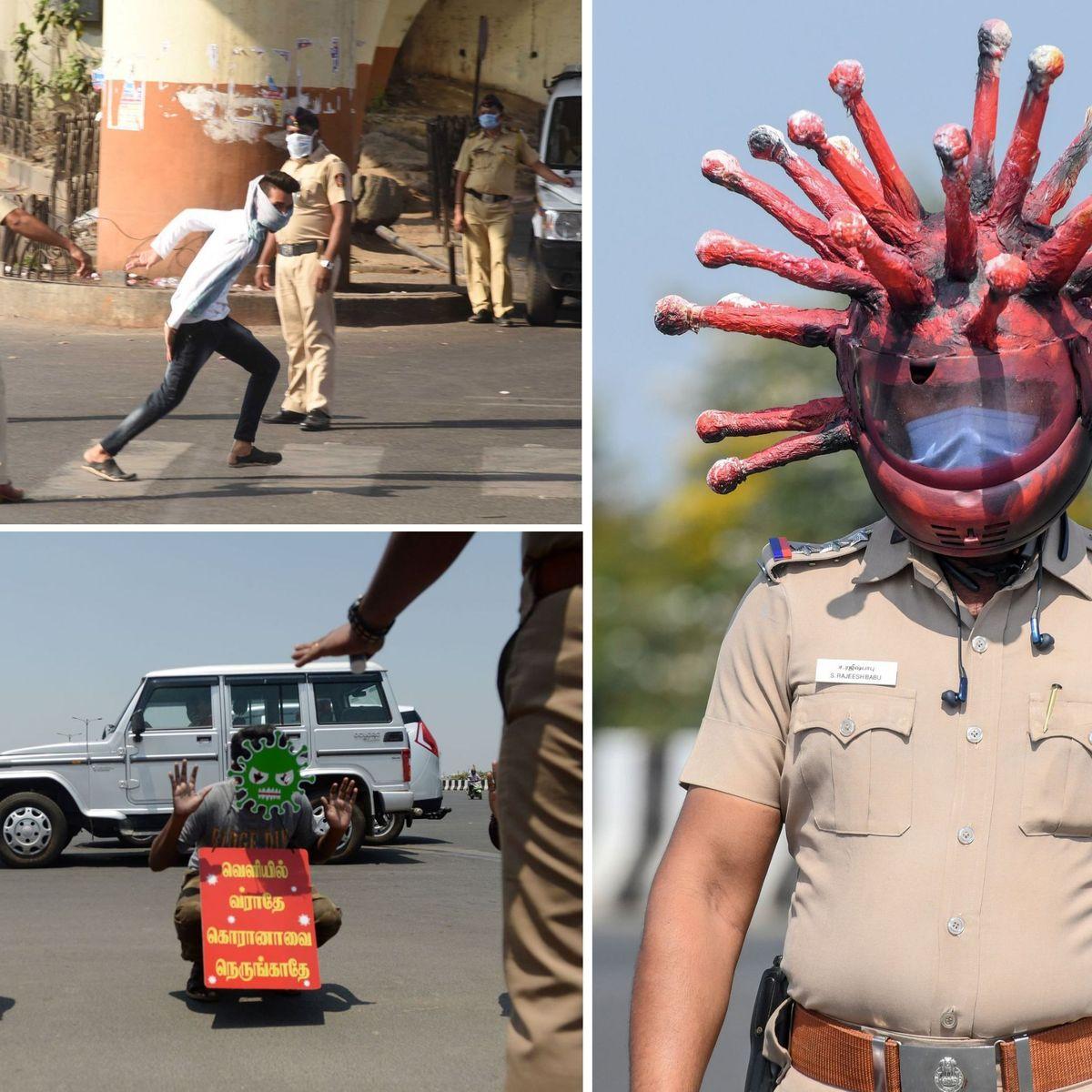 Rigolote Ou Brutale Les Multiples Visages De La Police Indienne Durant Le