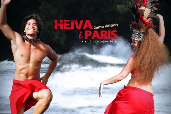 Affiche festival Heiva in Paris 2015
