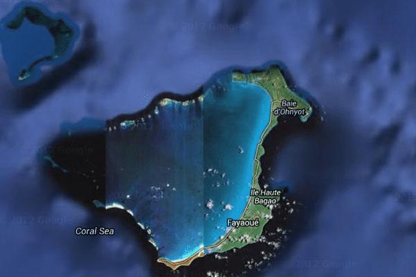 Lagon calédonien : zone atoll d'Ouvéa et Beautemps-Beaupré
