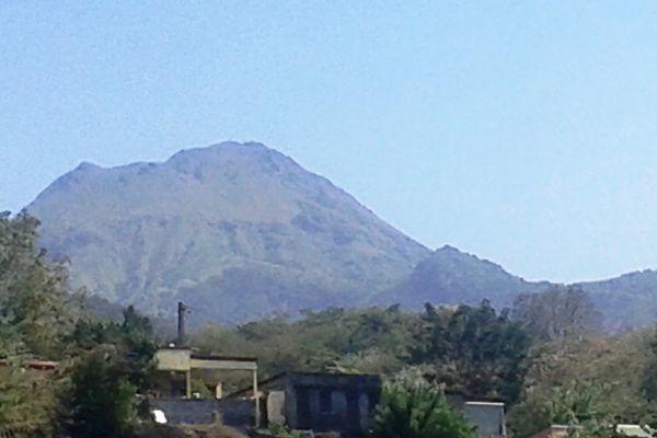 La Montagne Pelée (Martinique) le jour du trail la Mythik