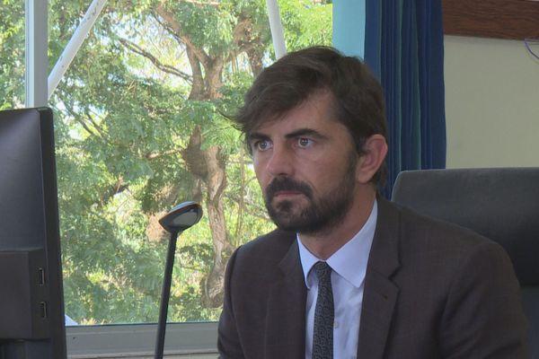 Rémi Bochard, directeur général de la coordination et de l'animation territoriale (Préfecture de Guyane)