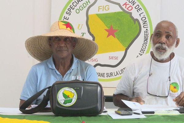 les indépendantistes de retour de Bonaire