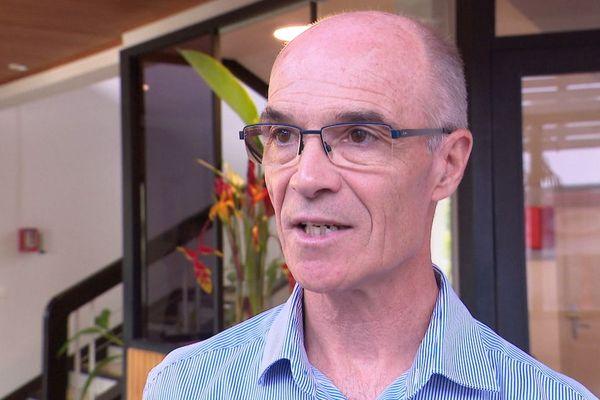 Yann Caron, directeur de l'IEOM.