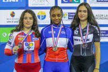 Farrah Prudent, Championne de France catégorie Junior du 500 mètres départ arrêté