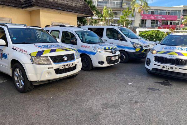 police municipale / véhicule