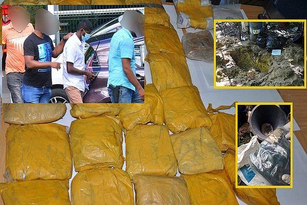 Maurice : deux interpellations après la saisie de 243 kg d'héroïne et 26 kg de haschisch