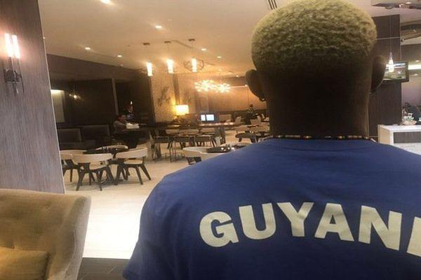 Les Yana J-2 du match face au Honduras