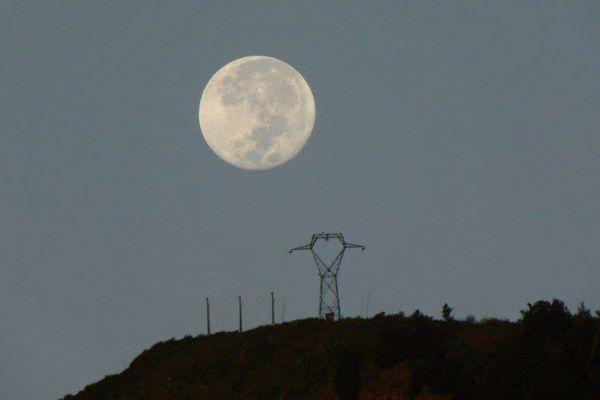 grosse lune au Colorado