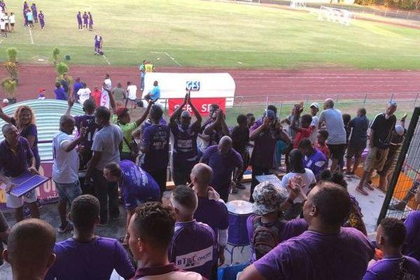 Football Régionale 1 supporters de la Jeanne d'Arc, le Port 04-2019