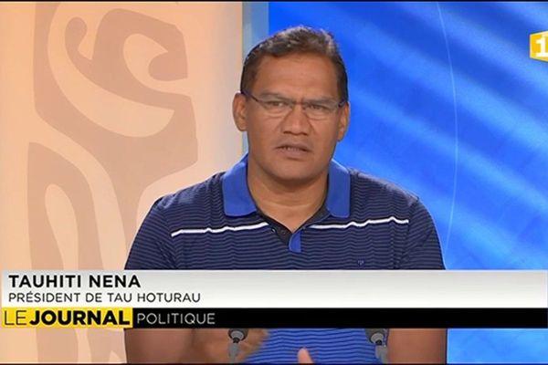Tauhiti Nena en marche pour les Territoriales