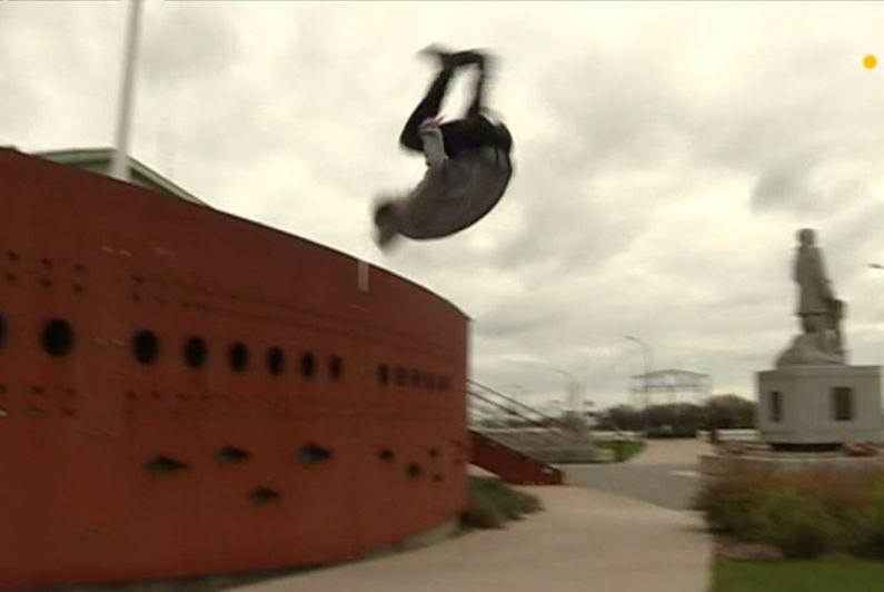La pratique d'acrobaties en milieu urbain toujours plus populaire à Saint-Pierre