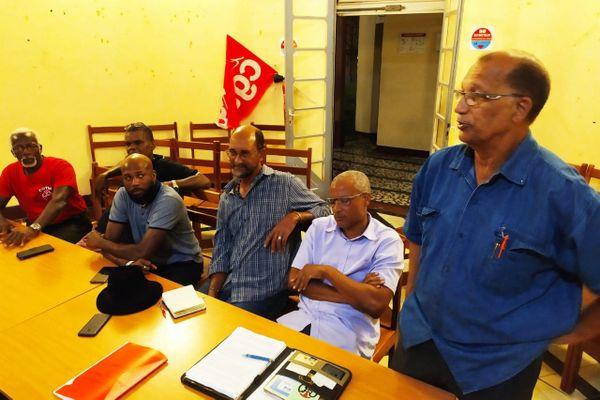 Réunion syndicat pétrolier 16 janvier 2020
