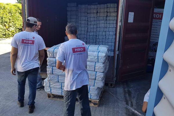 Envoi de 5 conteneurs au Mozambique mars 2019