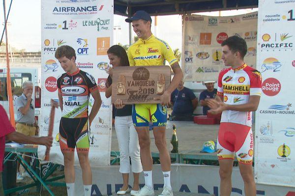 Tour cycliste 2019, Julien Lino et le trophée