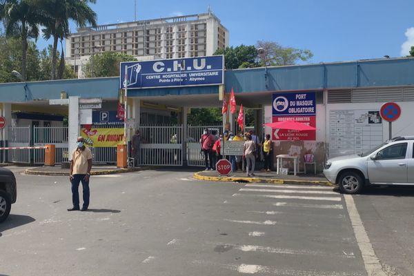 grève au CHU