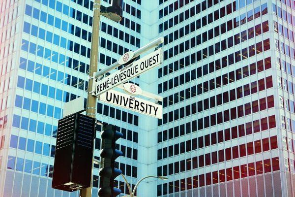 Rue au Canada