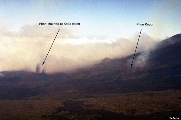 Les trois cônes de mars 1998