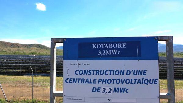 Ferme photovoltaïque de Kotabore