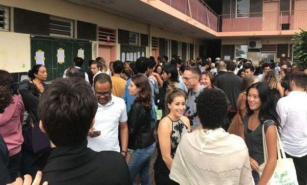 Bac 2018 lycée Levavasseur Saint-Denis 060718
