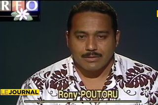 50 ans de la TV en Polynésie : Rony Poutoru